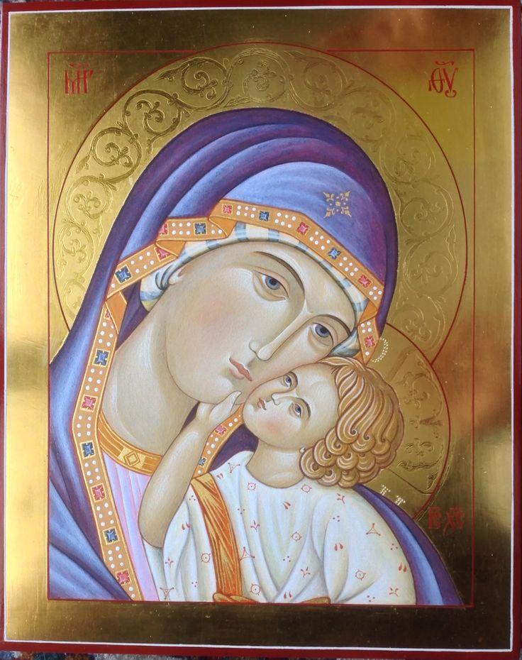 Foto: Madre di Dio di Jaroslav (particolare), 25x20 cm