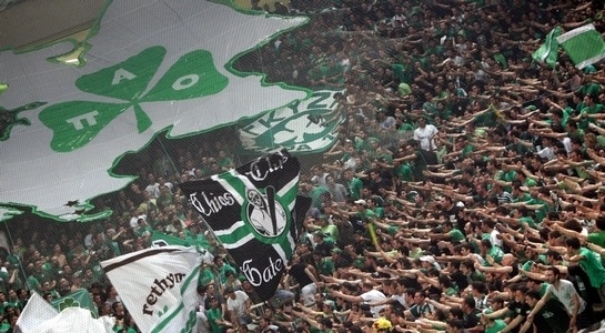 Panathinaikos supporters