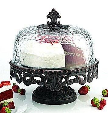 Venetian Hammered Cake Stand