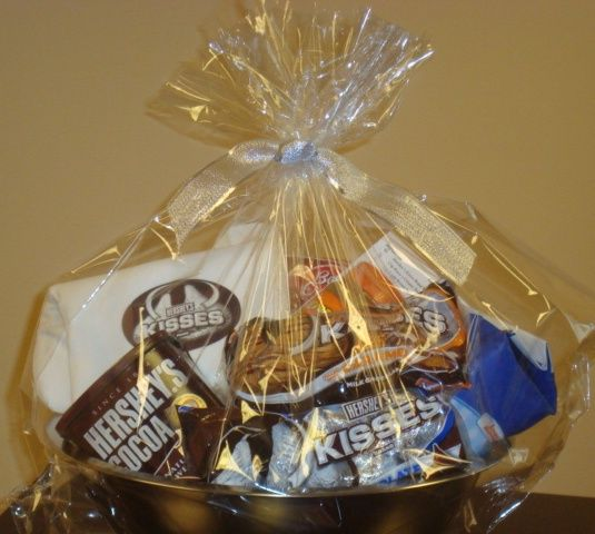 7 best gift basket wrapping images on pinterest gift packaging you can also makeorder hersheys basket s as well when adding to your raffle prize list negle Image collections