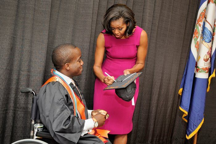 Aspetto Shirt with Michelle Obama