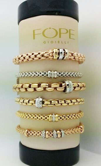 Mix and match Flex'it Fope bracelets