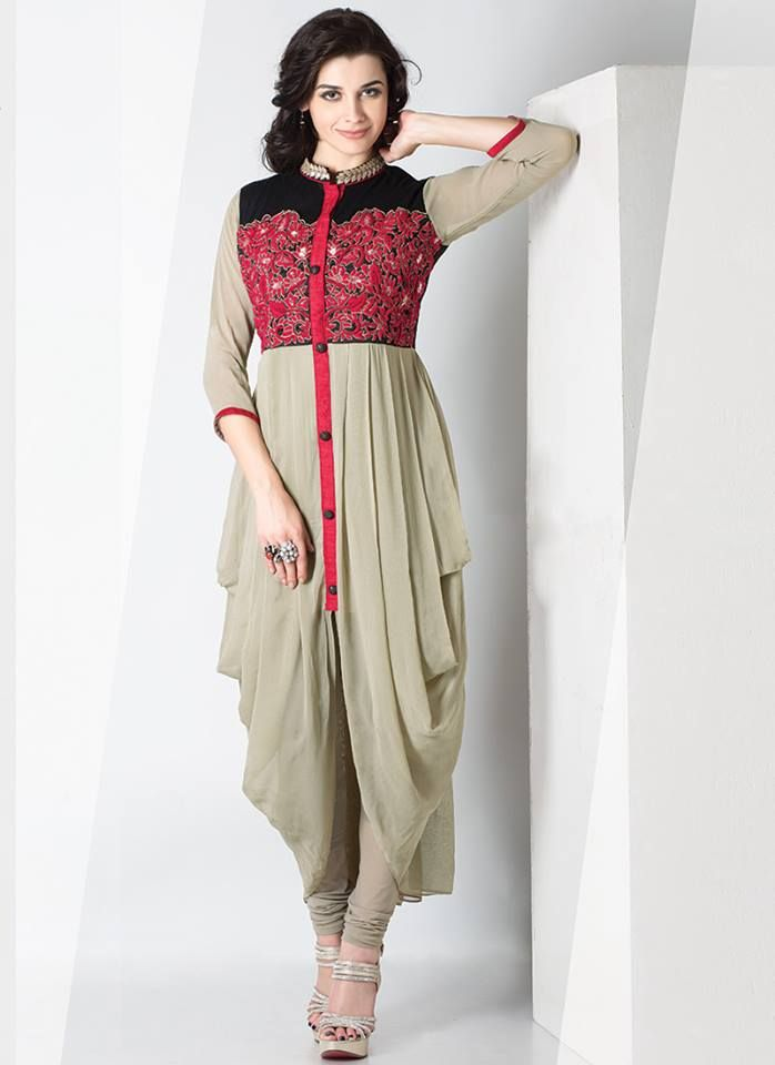 Lovely Classy Indian Gathering Wear Cbazaar Outfit Dresses Accumulation 2015 (3)