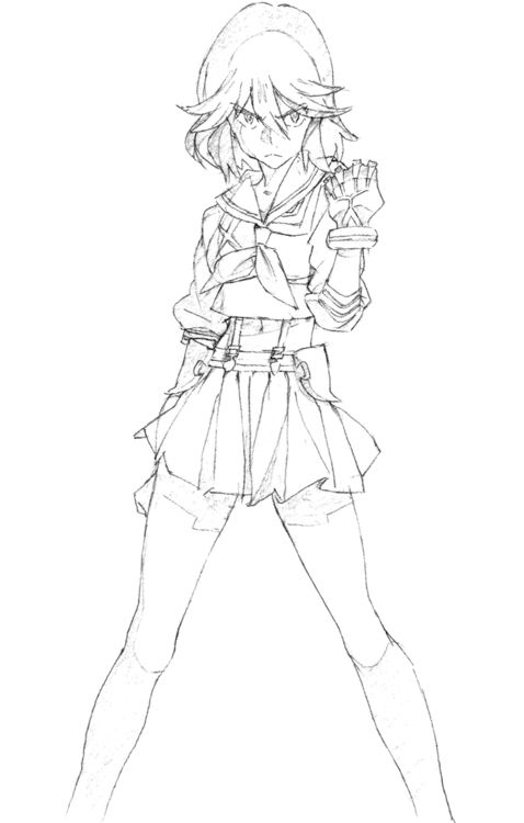"""""""Kill La Kill"""" by 今石 洋之 Hiroyuki Imaishi*  • Blog/Info 