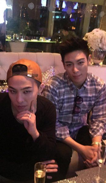 """GD and T.O.P  I really thought GD was some random woman and I was like,""""AWWW, who is TOP dating?"""""""