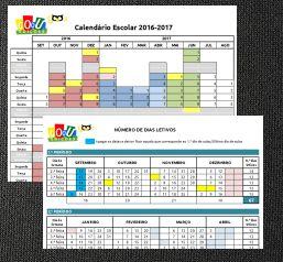 goou.pt: DOWNLOAD GRATUITO EXCEL | Calendário Escolar 2016-...