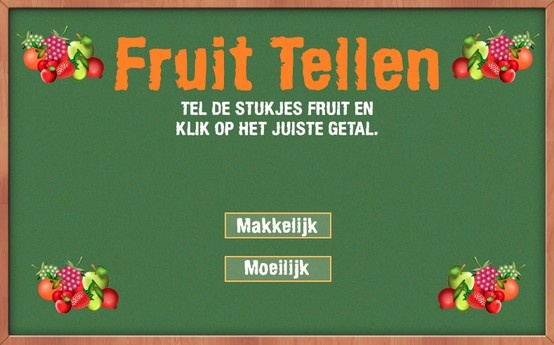 Fruit Tellen (Voor PC en Tablet)
