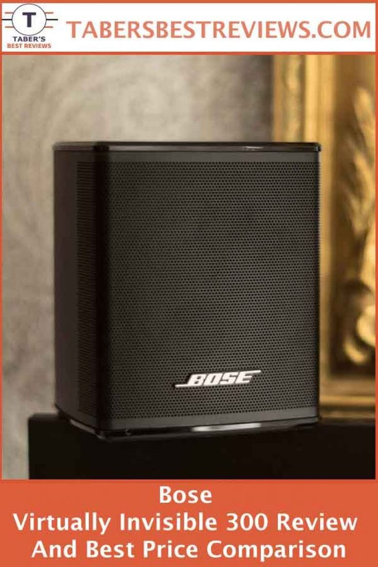 Bose Virtually Invisible 300 Review And Best Price Comparison Taber S Best Reviews Has Tested And Reviewed The Bos Surround Sound Speakers Bose Audio Speakers