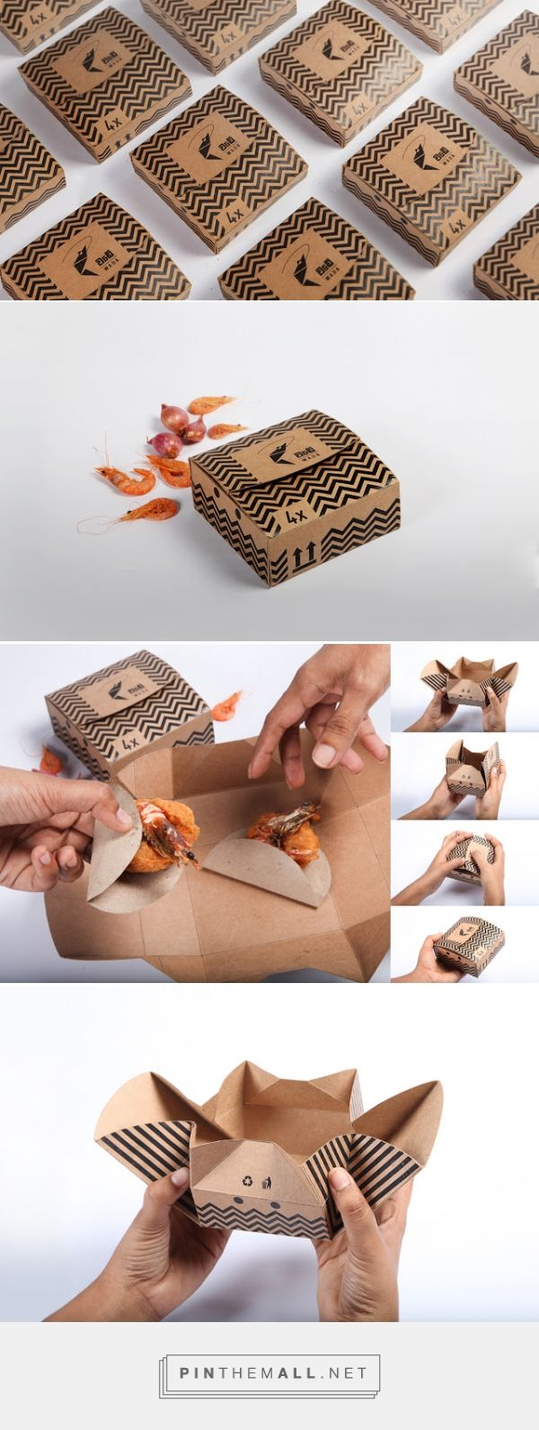 Wada Prawns (Student Project) Packaging of the World - Creative Package Design Gallery - http://www.packagingoftheworld.com/2015/07/wada-prawns-student-project.html