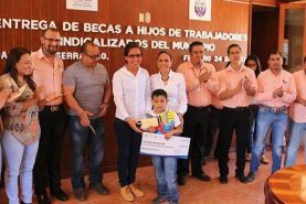 Con una inversión de 114,000 pesos, Selene Salazar Pérez y Jorge Magallón Rivera, Secretario General del Sindicato de los Trabajadores...