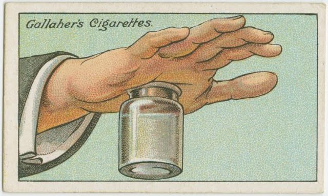 """In the early 20th Century, Gallaher's Cigarettes printed a special series of 100 """"How to do it"""" cards that included some truly useful and helpful tips for everyday situations and problems. The entire 100 card collection is part of the New York Public Library's George Arents Collection and was recently digitized. Here, below are 40 helpful tips via Twisted Sifter."""