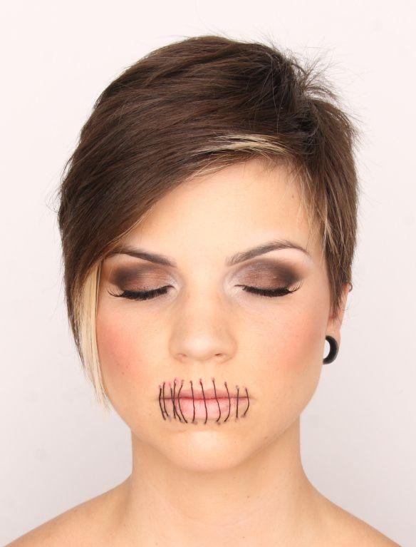 Lips Sewn Shut Iu0026#39;d Prefer A Cross Stitch | Matt Ober | Pinterest | Crosses Lips And Cross Stitch