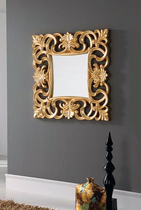 Espejo cuadrado enmarcado (294 – DE19) - Muebles CASANOVA