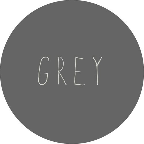 Grey. :) grey is my favorite color.