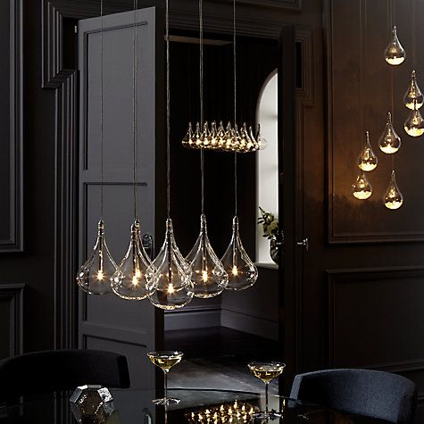 Dining room? John Lewis Sebastian 7 Light Drop Ceiling Light Online at johnlewis.com