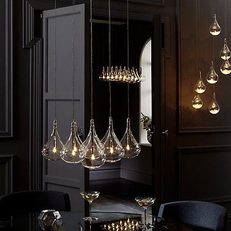 Dining room? John Lewis Sebastian 7 Light Drop Ceiling Light Online at johnlewis.com