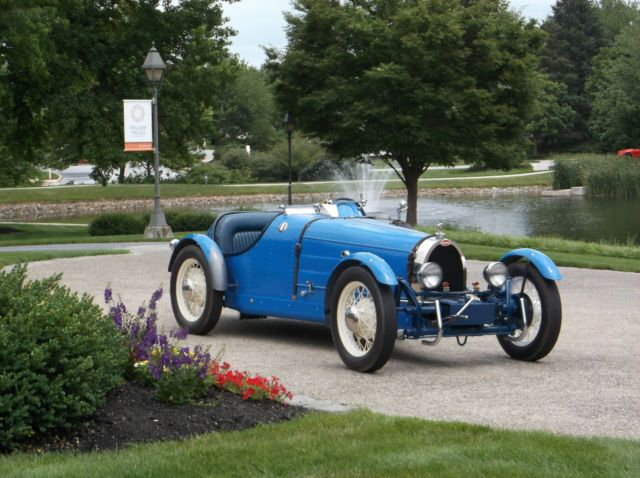 bugatti type  replica kit car  cc motor   vw chassis hotrod classic