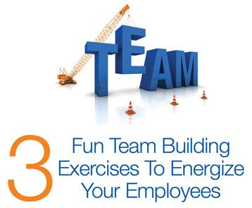 If spirits are low in your workplace, consider working together on a team-building exercise. These 3 fun activities will get communication flowing!
