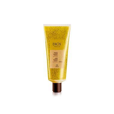 Com óleo de maracujá e esfoliantes feitos com sementes de maracujá, este sabonente líquido esfolia suavemente, deixando sua pele macia e renovada.