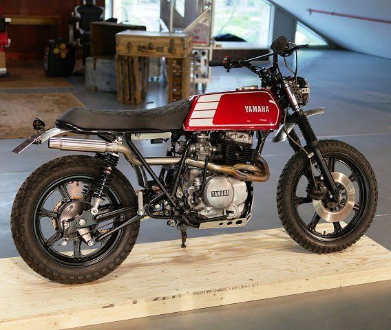 Fantastic Yamaha Xs400 Tracker Scrambler By Christensen Moto Dailytribune Chair Design For Home Dailytribuneorg
