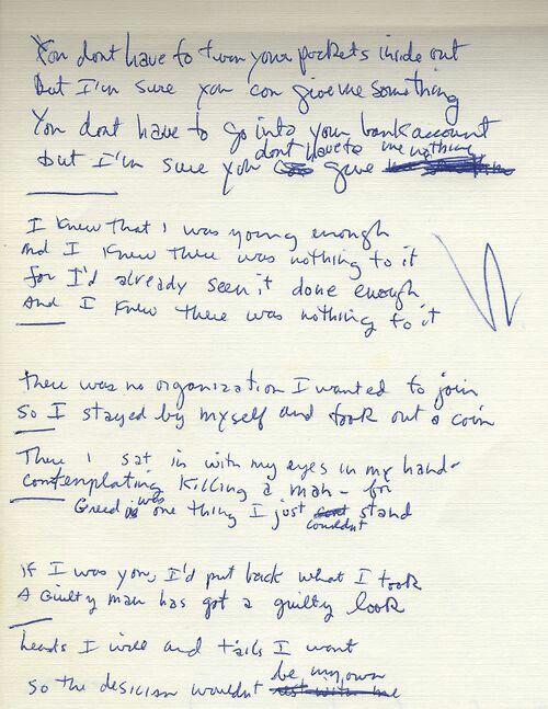 Bob Dylan Nothing to It.