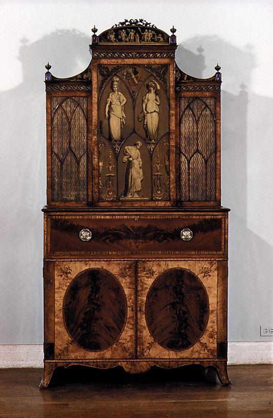 Secretary and bookcase. 1775