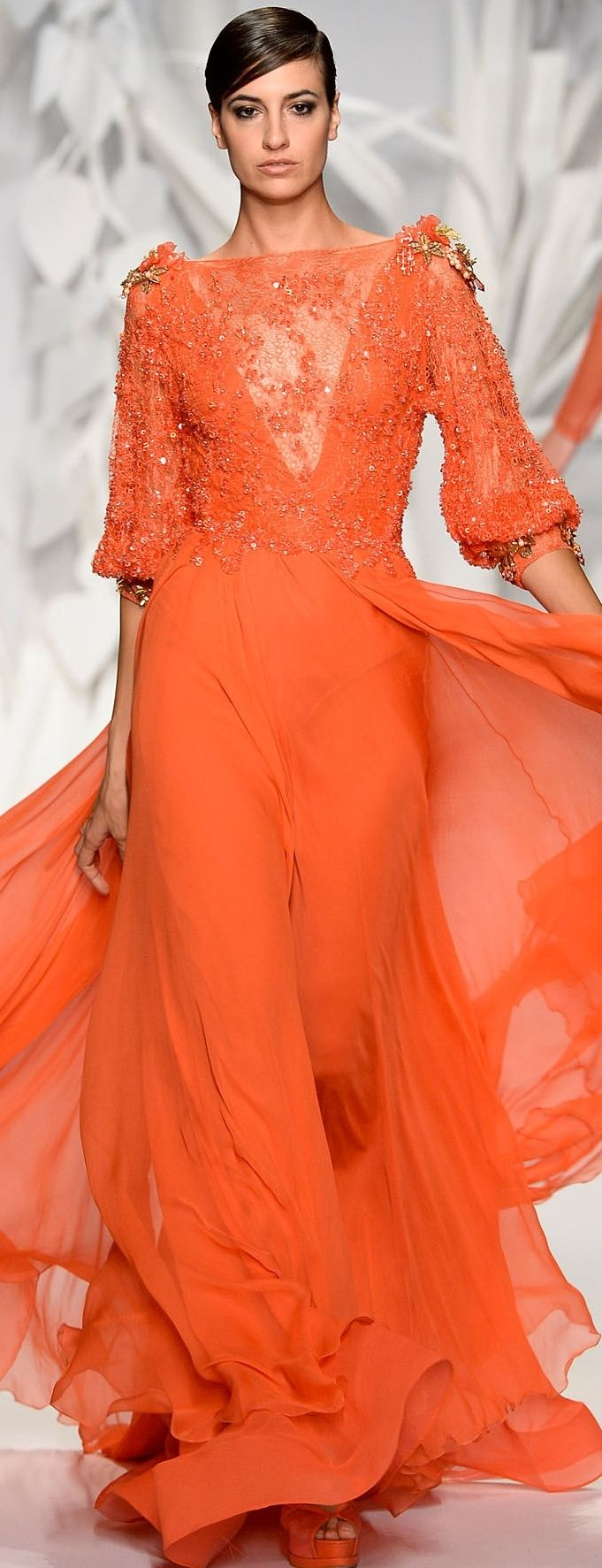 Abed Mahfouz Couture Fall-Winter 2013-2014                                                                                                                                                                                 More