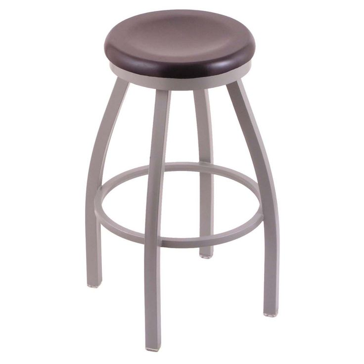 Holland Bar Stool Misha 25 in. Swivel Counter Stool with Wood Seat - 80225ANDCMPL