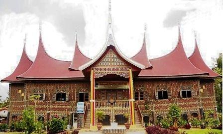 Rumah Gadang, traditional West Sumatra house.