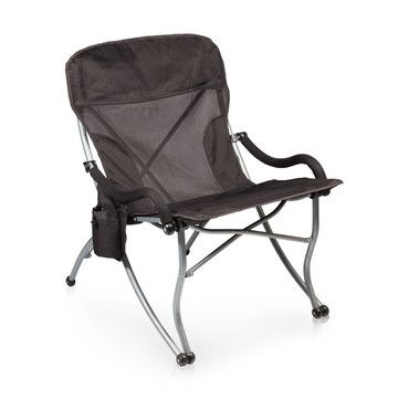 Camp Chair - extra wide, extra support, super comfy...