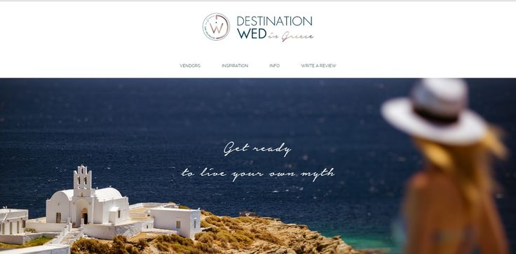 We present the best professionals that undertake destination weddings in stunning Greek islands and cities.