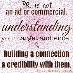 Public relations builds connections, credibility. #PR