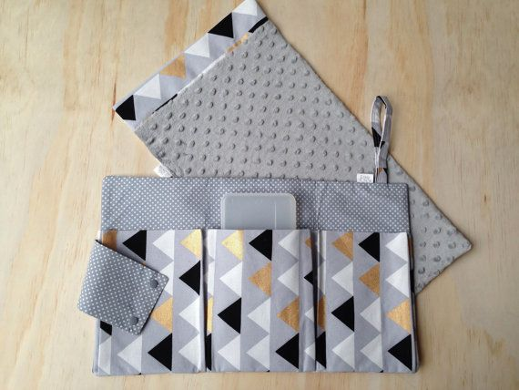 Nappy Clutch/ Nappy Wallet/ Diaper Bag/ Baby by ProductivePoppets More
