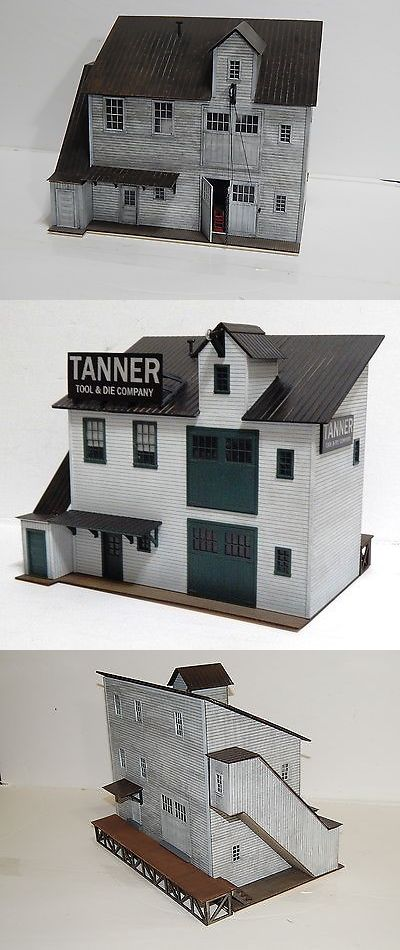 Buildings Tunnels and Bridges 99807: O On30 Scale Craftsman Kit Tanner Tool And Die Company -> BUY IT NOW ONLY: $129 on eBay!