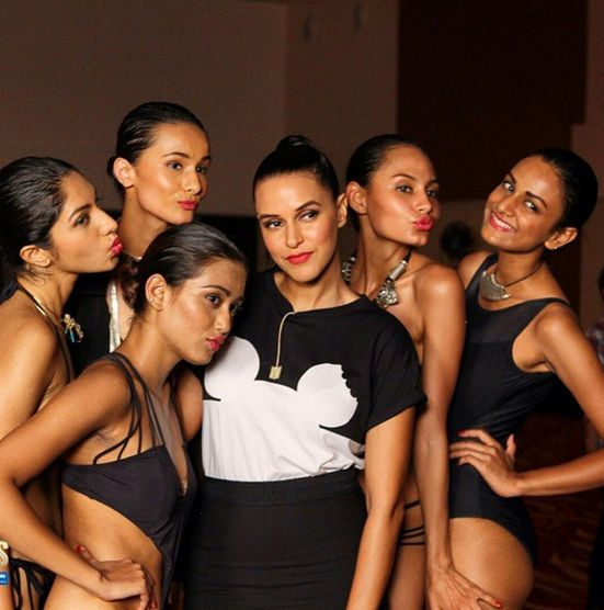 Top Indian fashion and lifestyle blog: Kingfisher supermodels hunt at NDTV goodtimes toni...