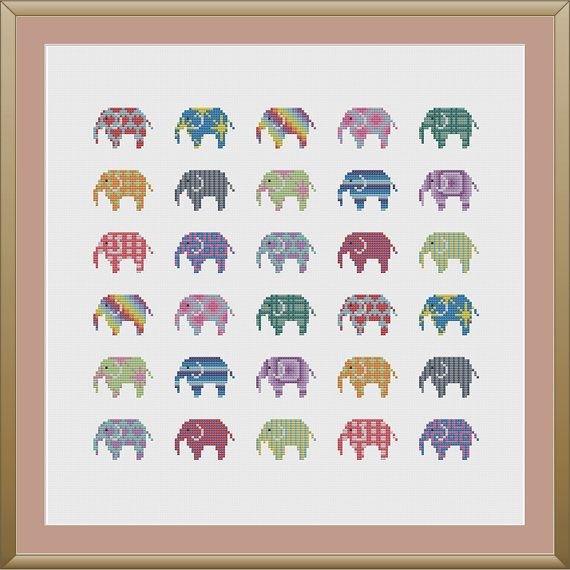Please note that this is a cross stitch pattern and not a finished product.    This is a beautiful, colourful design!    This pattern requires 14