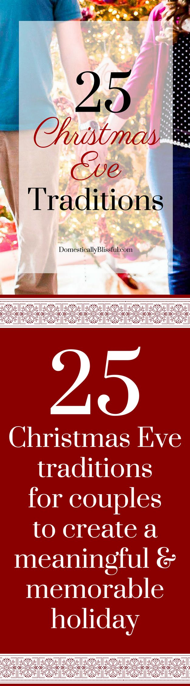 25 Christmas Eve traditions for couples to create a meaningful