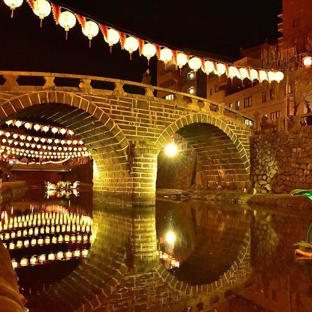 Instagram【takiti7】さんの写真をピンしています。 《ランタンフェスティバル見に来た😊 明日は何処に行こう? ハトシ美味しかったぁ〜😋 location:長崎県、眼鏡橋  #広角レンズ #instagramjapan #tokyocameraclub #ファインダー越しの私の世界 #写真好きな人と繋がりたい #写真撮ってる人と繋がりたい #夜景 #夜景ら部 #nikon #d5500 #20mm #jal東京カメラ部2017japan #jal東京カメラ部2017旅 #yakei_luv #loves_night #japan_night_view #nightview #眼鏡橋 #ig_japan #igersjp #ランタンフェスティバル #photo_shorttrip #_photo_japan_》