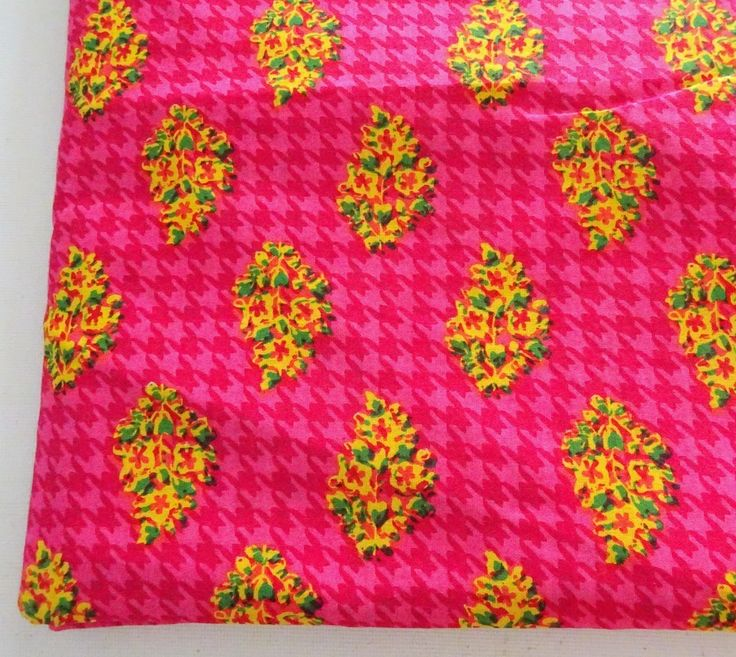 "Pink Flower Cotton Fabric - Houndstooth Block Print Cotton Fabric ₹125.00 Pink Flower Cotton Fabric - Houndstooth Block Print Cotton Fabric Fabric : cotton Dimension HALF METER (50cm) x Fabric Width (42"") Usage : Dress, tunic, bag making, quilting, yoga pants, patchwork, ta... http://shop.chezvies.com/#!/Pink-Flower-Cotton-Fabric-Houndstooth-Block-Print-Cotton-Fabric/p/72971140"