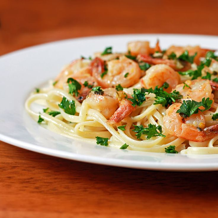 April 29, 2016 is National Shrimp Scampi Day.Help your audience celebrate by sharing your opinion of this Lemon-Garlic Shrimp Scampi recipe with them.  Join the Nutrition Entrepreneurs Mastermind for free, for more resources to help you Get Nutrition Clients. http://www.GetNutritionClients.com/nem