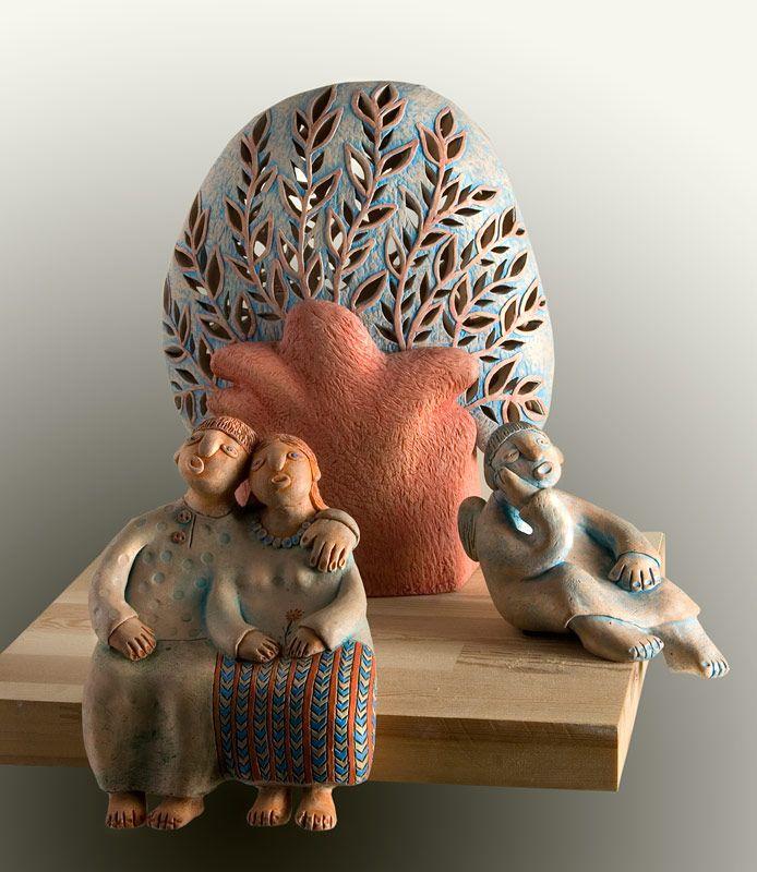 картинки из керамики художников витебской области курит сигары носит