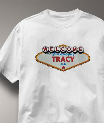 Cool Tracy California CA Shirt from Greatcitees.com