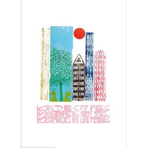 Haiku by Paul Peter Piech (Giclee Print)||EVAEX