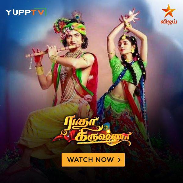 RadhaKrishna on #StarVijay | Indian TV in Australia in 2019