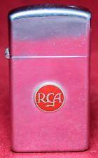 1964 Zippo Slim RCA Enamel Lighter - Vintage