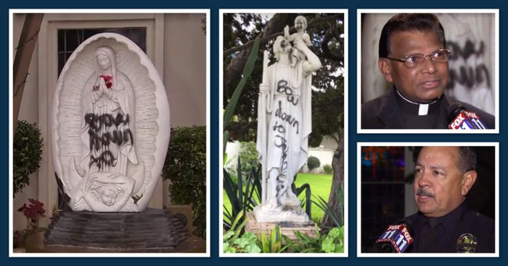 STAND firmly denounces the defacement of the West Covina, CA Churches. We #STANDasONE with our brothers and sisters. http://qoo.ly/dzaik