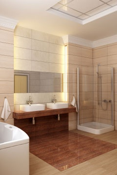 Bathroom Lighting Side Of Mirror 137 best led lighting for bathrooms images on pinterest | room