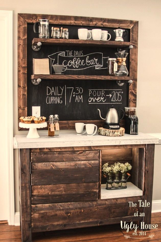 A coffee bar should have it's own room. Because it's coffee.