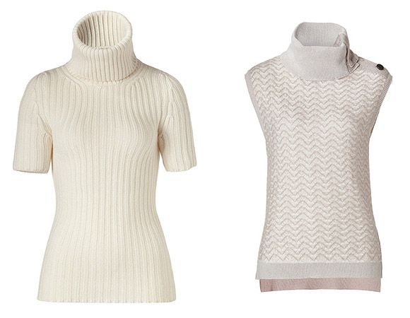 Вязаные белые свитера - хит сезона 2012 | moda2ukr