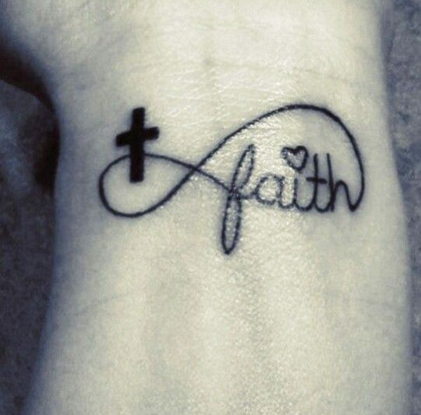 30 Inspiring Faith Tattoos | Cuded